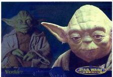 Star Wars Evolution Evolution 'A' Chase Card 12A Yoda