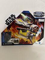 Star Wars Mission Fleet Stellar Class Anakin Skywalker Jedi Starfighter 2.5-Inch