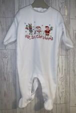 Boys Age 6-9 Months - My First Christmas Sleepsuit
