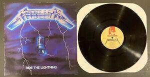 Metallica Ride The Lightning Megaforce MFN27