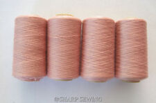 EACH BRIGHT PINK #534 T-40  POLYESTER SERGER /& QUILTING THREAD 4 TUBES 1000 YDS