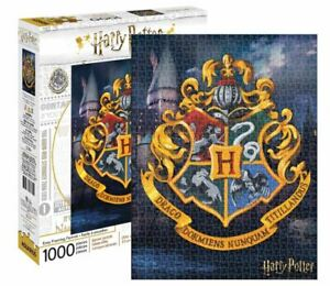Harry Potter Hogwarts Crest 1000 piece jigsaw puzzle 690mm x 510mm  (nm)
