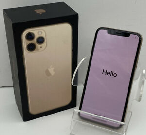 VGC Apple iPhone 11 Pro Unlocked 512GB Gold Smartphone A2215 Boxed FAST SHIPPING