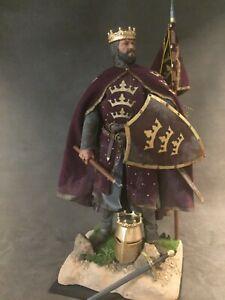 "CUSTOM 12"" MEDIEVAL WARRIOR KING ARTHUR 1/6 SCALE FIGURE."