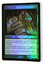 MTG SHM 1x FOLLA DI ELFI (Drove of Elves) Uncommon FOIL EX Shadowmoor