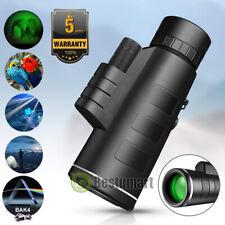 Waterproof 40X60 Night Vision Optical Monocular Starscope Hunting Telescope BAK4