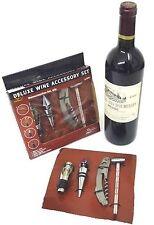 Deluxe Juego de accesorios de vino (4 piezas)