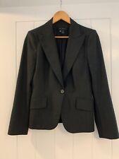 Zara Grey Blazer Jacket Size 10