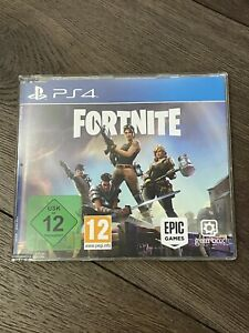 Fortnite PS4 PlayStation 4 Game Promo Super RARE NFR 2017 UK PAL Physical disc