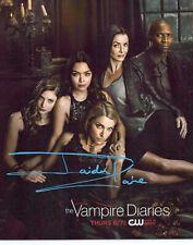 """JAIDEN KAINE """" Beau"""" Autogramm 20x25cm """"THE VAMPIRE DIARIES"""" In Person"""