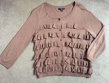 Gap Patternless 3/4 Sleeve Cardigans for Women