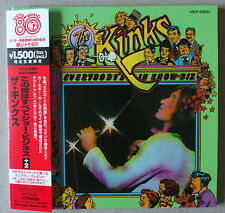 CD  *** THE KINKS. EVERYBODY'S IN SHOW BIZ  *** MINI LP CD WITH PROMO OBI