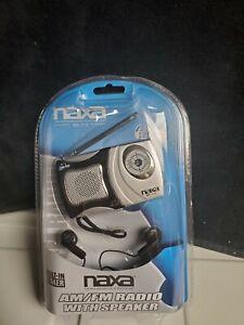 NAXA  Am/Fm Mini Pocket Radio with Speaker
