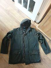 Mens Barbour Classic Durham Waxed Jacket Size  L