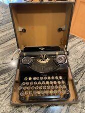 Vintage Royal Junior Typewriter W/ Case And Ribbon