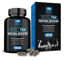 TestoTEK Huge Muscle Gains, Sex Drive & Performance, Testo, Testosterone Booster
