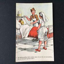 CPA Ancienne Humoristique Humour Soldats Vintage Postcard PC