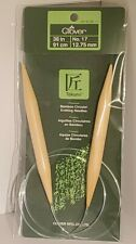Clover Takumi Bamboo Circular Knitting Needles 36 in. - No. 17 - 3016/36-17 🎋