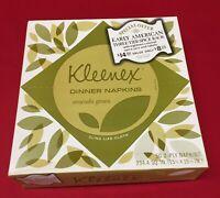 1974 Kleenex Dinner Napkins Avocado Green 2 Ply Napkins No UPC Sealed Box 1970s