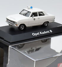 "Schuco Rarität 02943 Opel Kadett B "" Polizei "" in weiss ,1:43 , OVP, K085"