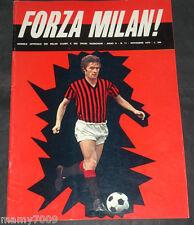 FORZA MILAN!=N°11 1970=RIVERA=DJALMA SANTOS=SERIE A 1-2-3-4° GIORNATA