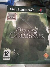 Shadow Of The Colossus PS2 Sony PlayStation 2 Game + Art Cards Limited Edition