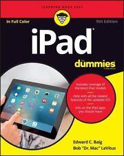 iPad For Dummies, LeVitus, Bob,Baig, Edward C., Good Condition, Book