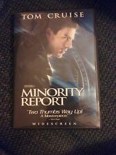 Minority Report (Dvd, 2003 Widescreen)