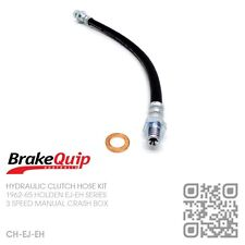 BRAKEQUIP RUBBER CLUTCH HOSE KIT [1962-65 HOLDEN EJ-EH UTE/VAN/SEDAN/WAGON]