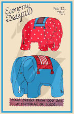 Vintage Jumbo Elephants Economy Design Pattern 112