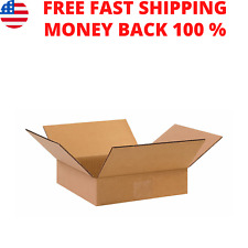 25 Pack 6 X 6 X 2 Cardboard Mailing Storage Small Packing Boxes Corrugated Box