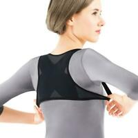Back Posture Corrector Adjustable Shoulder Support Brace Strap Unisex Belt V4U4