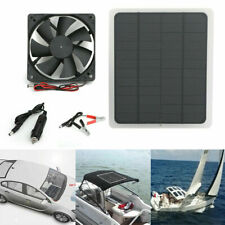 Solar Panel 12V Charge Battery Charger Kit Maintainer Marine Boat Rv Car Fan