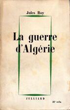 La guerre d'Algérie par Jules Roy - 1960