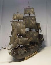 1/96 Black Pearl ship kit 3d Laser Cut Diy model Black Pearl Wood Model ship Kit