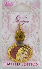 DISNEY EAU DE MAGIQUE BEST DAY EVER RAPUNZEL TANGLED PERFUME BOTTLE PIN LE 2000