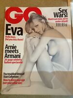 UK GQ March 2000 Hello Boys- Eva Herzigova, Arnie & Armani