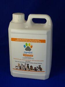 Signature Pet Care Ultimate bis 82L Professionelles Hunde Shampoo Kon250ml- 2,5L