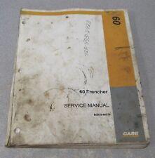 Case 60 Trencher Service Repair Manual 8 18540
