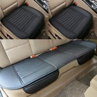 2019 Auto Car Seat Cover PU Leather Front Back Cover Mat Breathable Protector