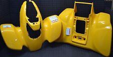 HONDA 400EX FENDERS BRAND NEW GENUINE HONDA 1999-2004 PLASTICS YELLOW FRONT/REAR