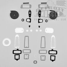 DMT MOPAR 66 Plymouth Barracuda Exterior Paint Gasket Kit Set Body Seals