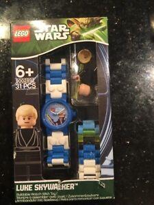 Lego Star Wars Luke Skywalker Watch 9002892 Green Box New Sealed Ripped Top