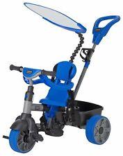 Little Tikes 101cm Adjustable 4-in-1 Trike with Storage Bucket - Blue