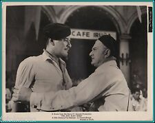 "ERROL FLYNN & MARCEL DALIO in ""The Sun Also Rises"" - Original Vintage Photograph"