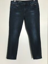 KUT FROM THE KLOTH Women Ankle Length Skinny Stretch Jeans Reese Dark Wash Sz 10