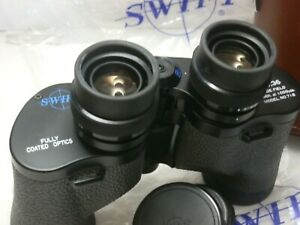 Vintage SWIFT Binocular w/ Case 8 X 36 HUNTER Mark II Wide Field # 718