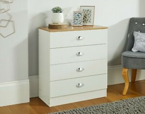 Grade A Cream Bedroom Furniture Bedside Table Wardrobe Chest of Drawers Storage