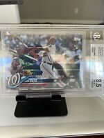 2018 Topps Update Series RAINBOW FOIL Parallel Nationals JUAN SOTO RC US104 BGS