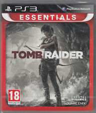 Tomb Raider PS3 Sony PlayStation 3 Brand New Factory Sealed 2013